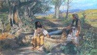 Henryk Siemiradzki - Chrystus i Samarytanka
