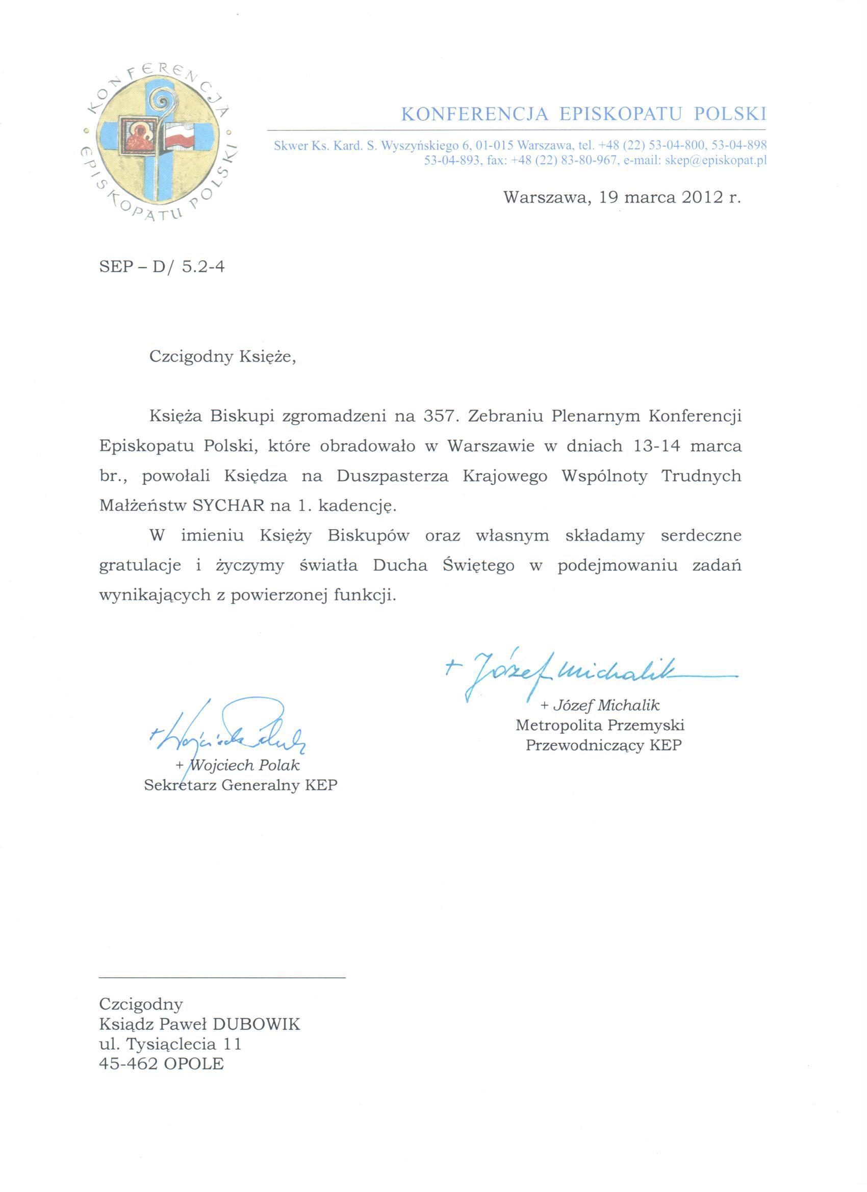 Episkopat-Polski-2012.03.14-nominacja